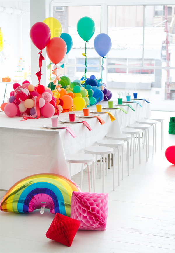 A Rainbow Baby Shower And Video