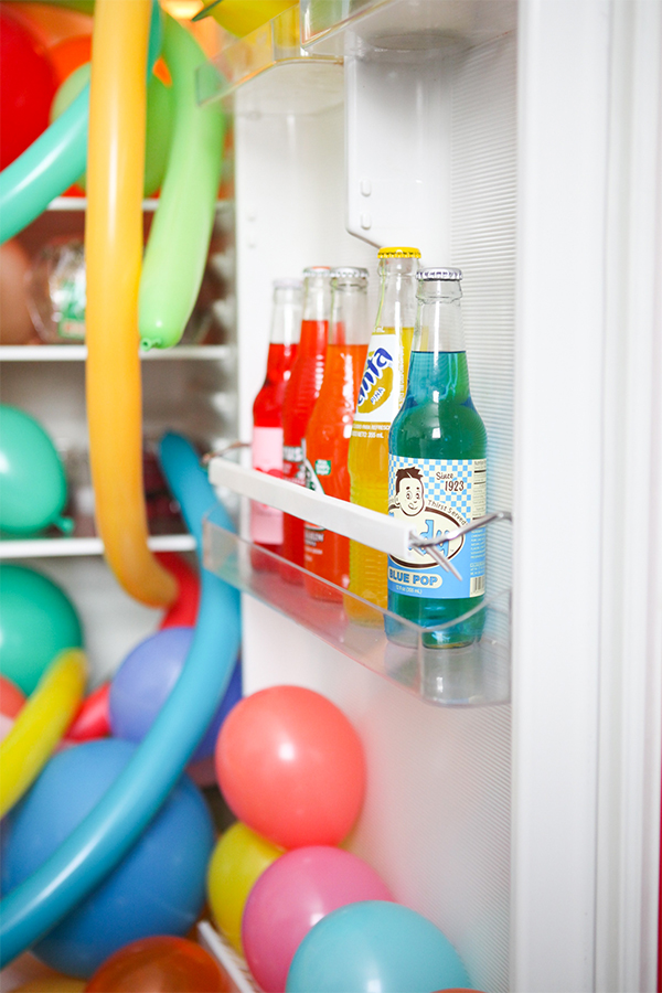 Balloons In Things: Fridge | Oh Happy Day!