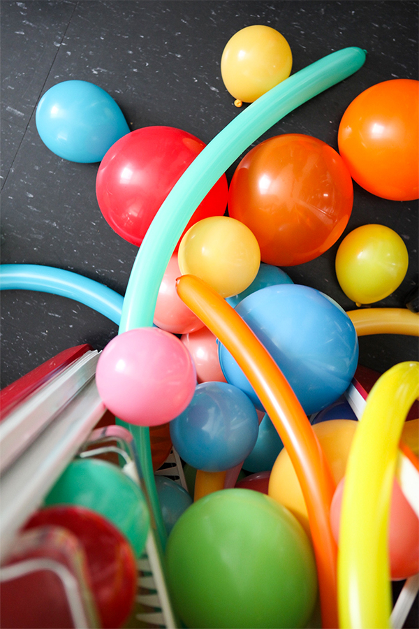 Balloons In Things: Fridge   Oh Happy Day!