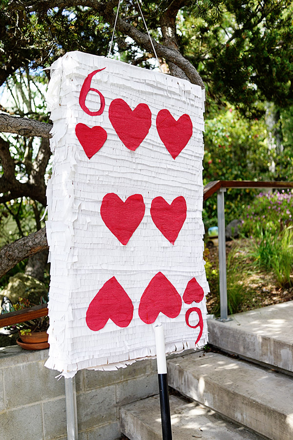 Magic Birthday Playing Card Pinata DIY | Oh Happy Day!
