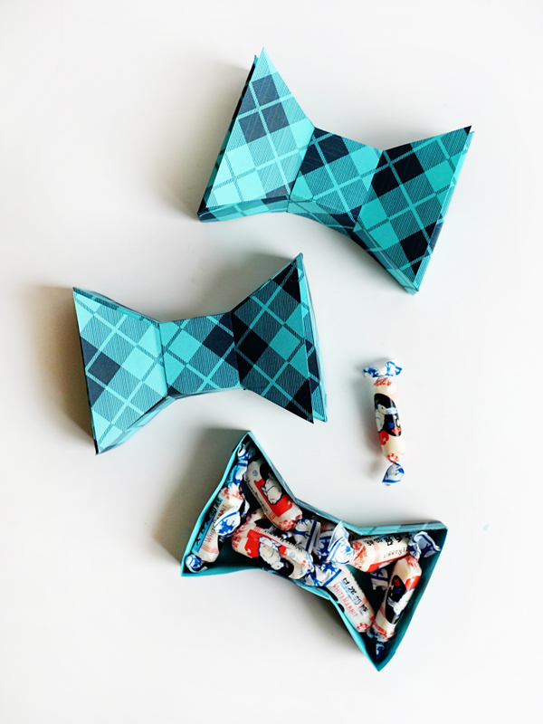 Printable Father's Day Bowtie Box | Oh Happy Day!