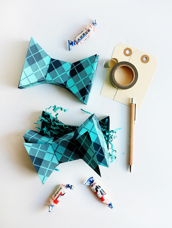 Printable Father's Day Bow Tie Box | Oh Happy Day!
