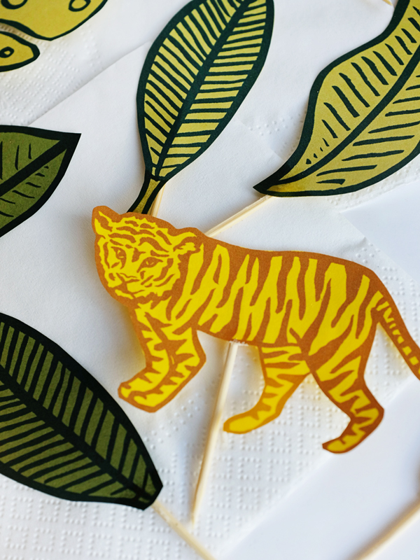 Printable Jungle Cupcake Toppers | Oh Happy Day!