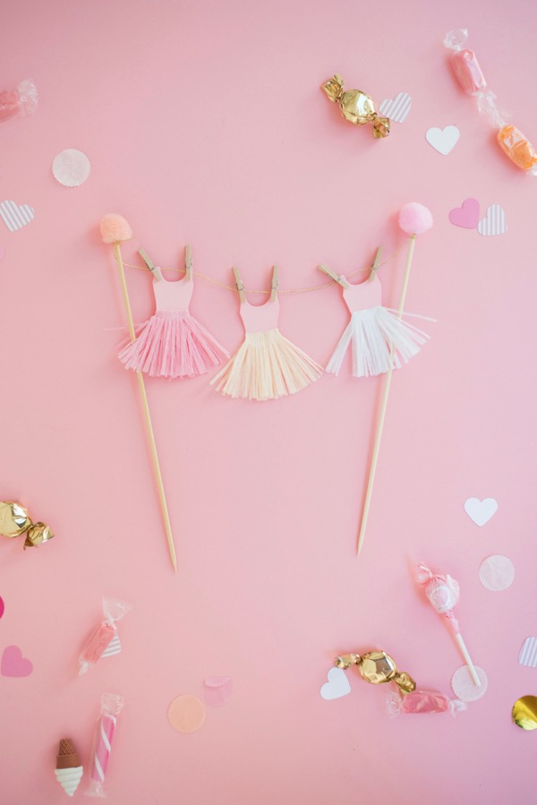 How To Make A Ballerina Cake Topper