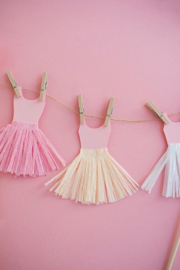 Ballerina Cake Topper Diy