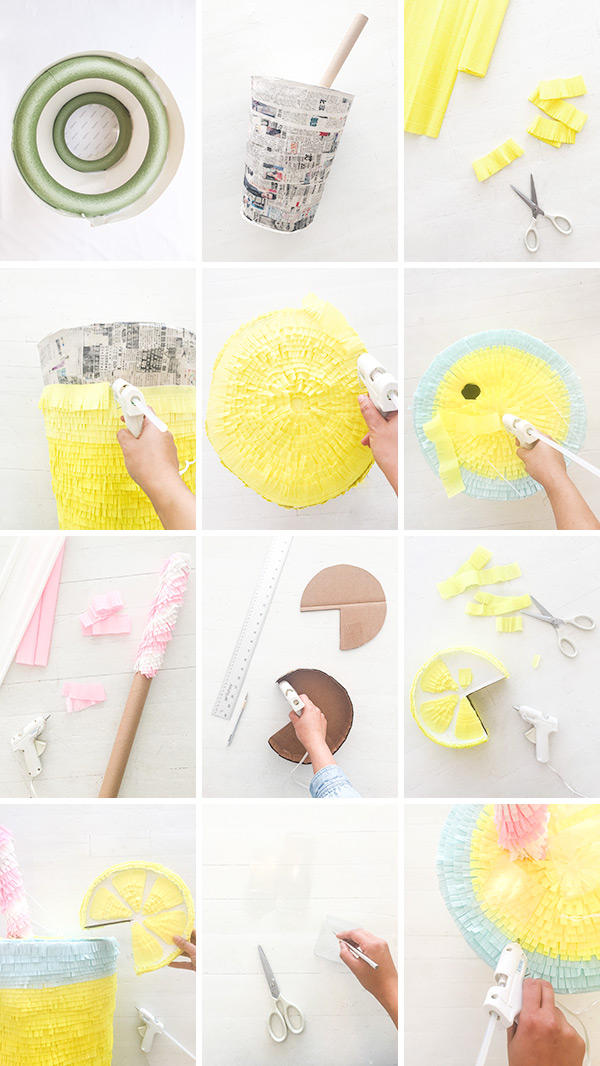 Lemonade Pinata | Oh Happy Day!