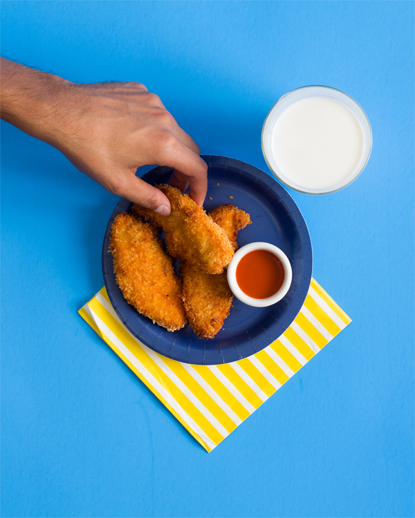 Buffalo Chicken Strips Recipe | Oh Happy Day!