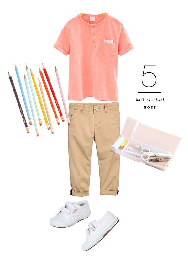 Back to School Shopping for Boys | Oh Happy Day!