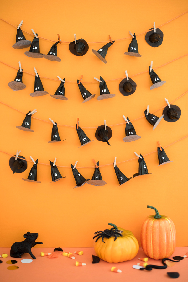 Halloween Countdown Calendar DIY