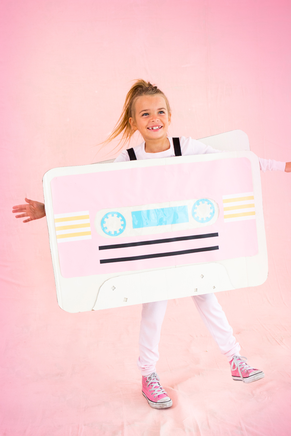Cassette Tape Costume | Oh Happy Day!