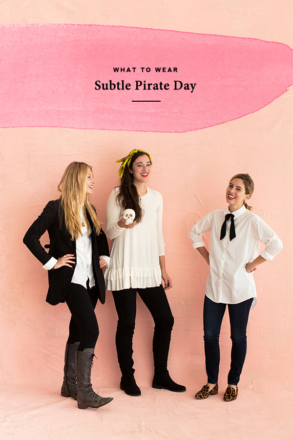 Celebrate Subtle Pirate Day! | Oh Happy Day!