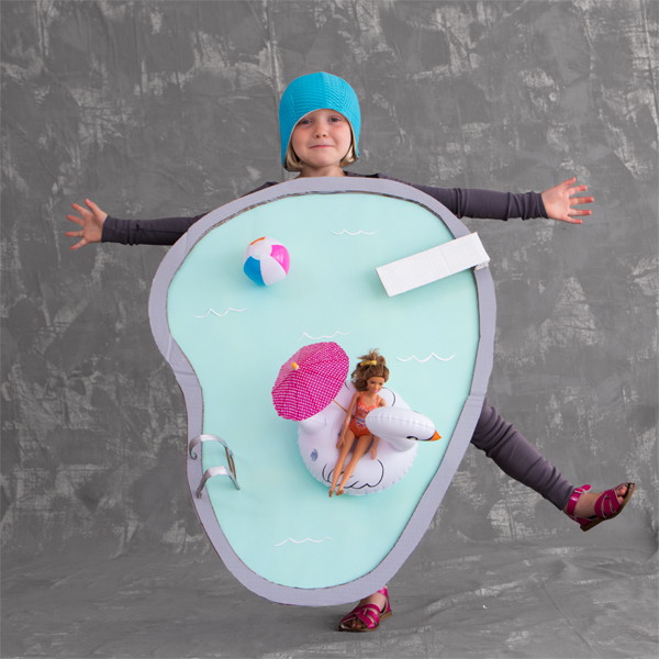 Halloween Pool Costume | Oh Happy Day!