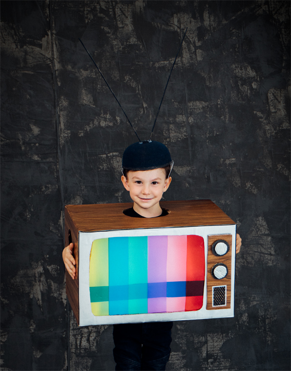 Retro Television Costume | Oh Happy Day!