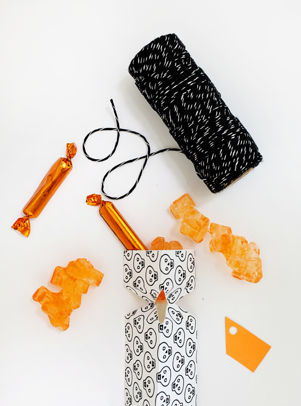 Printable Spooky Candy Poppers | Oh Happy Day!