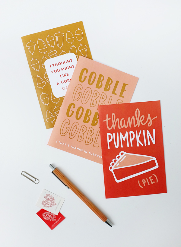 Printable Funny Fall Cards | Oh Happy Day!