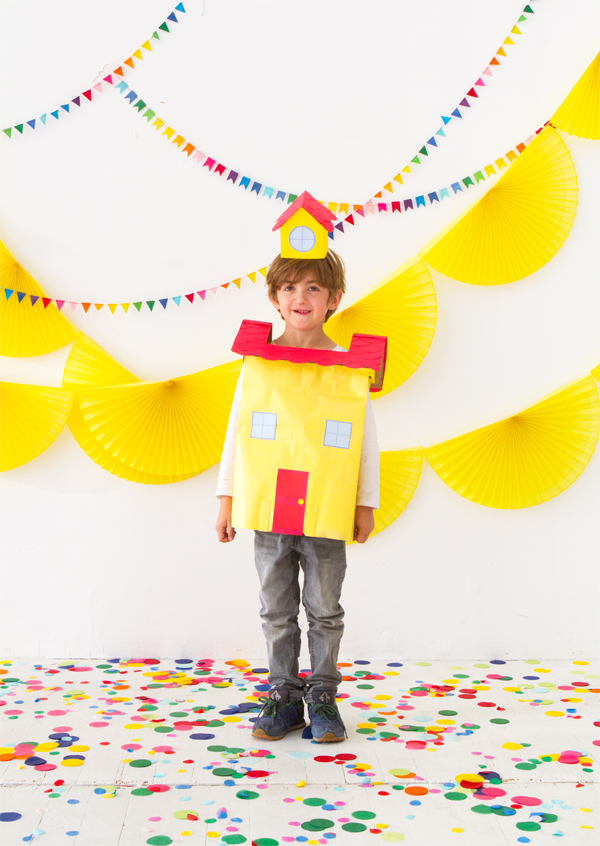 Paper Bag Costumes (Part 1) | Oh Happy Day!
