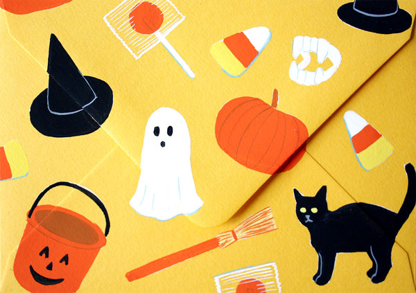 Happy Mail: Halloween | Oh Happy Day!