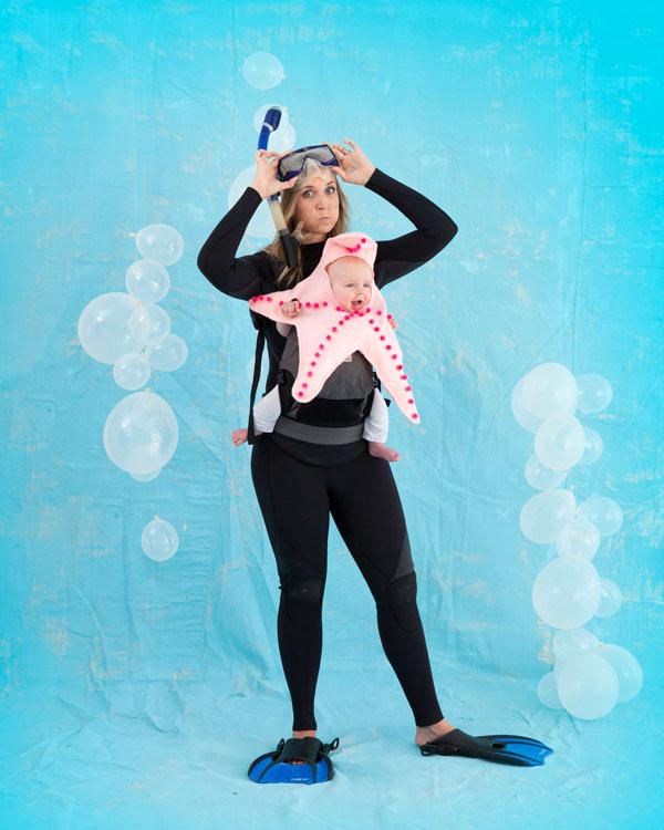 Starfish Baby Costume