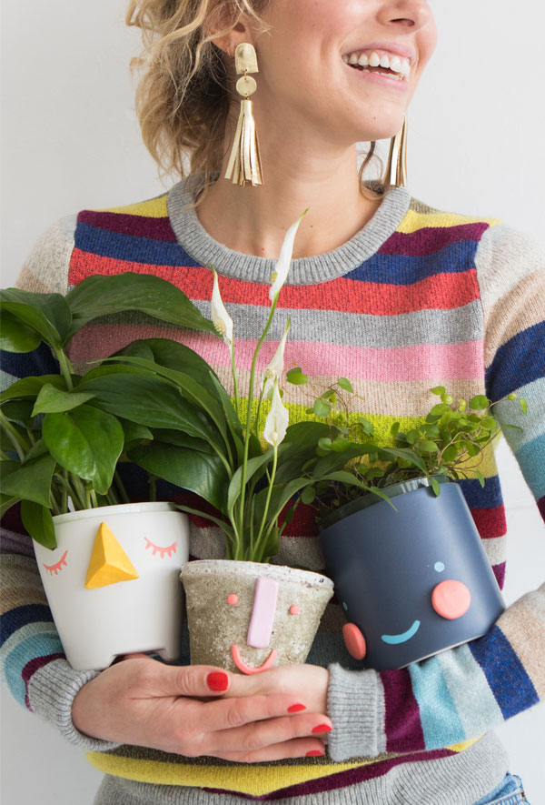 DIY Face Planters | Oh Happy Day!