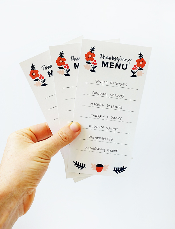 graphic relating to Printable Thanksgiving Menu named Printable Thanksgiving Menus