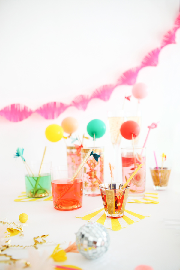 Drink Stirrers 3 Ways