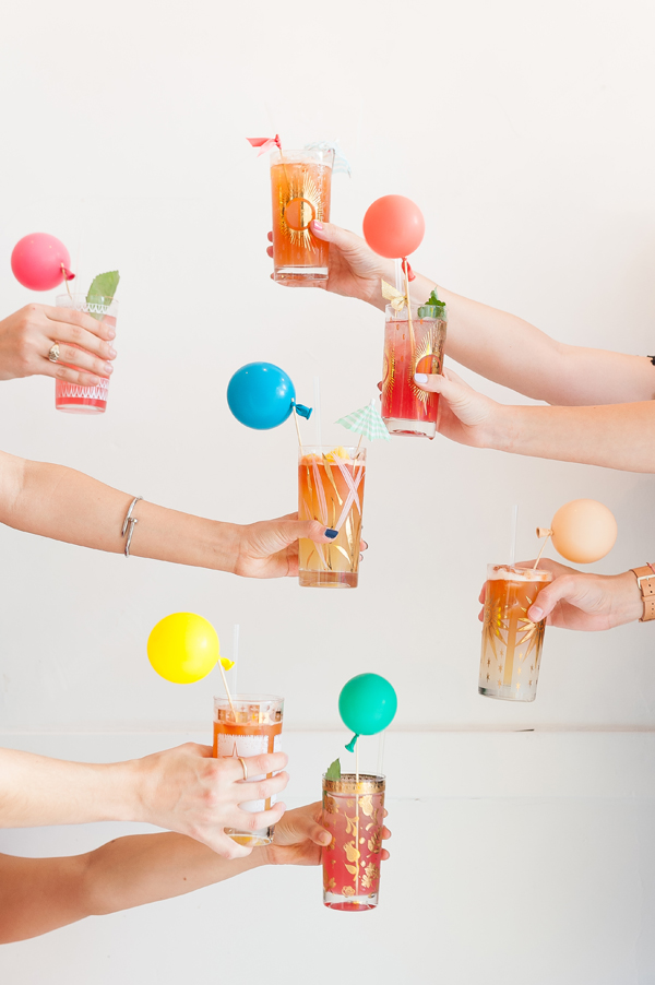 Drink Stirrers: 3 Ways | Oh Happy Day!