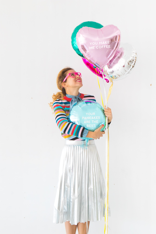 DIY Balloon Poetry | Oh Happy Day!