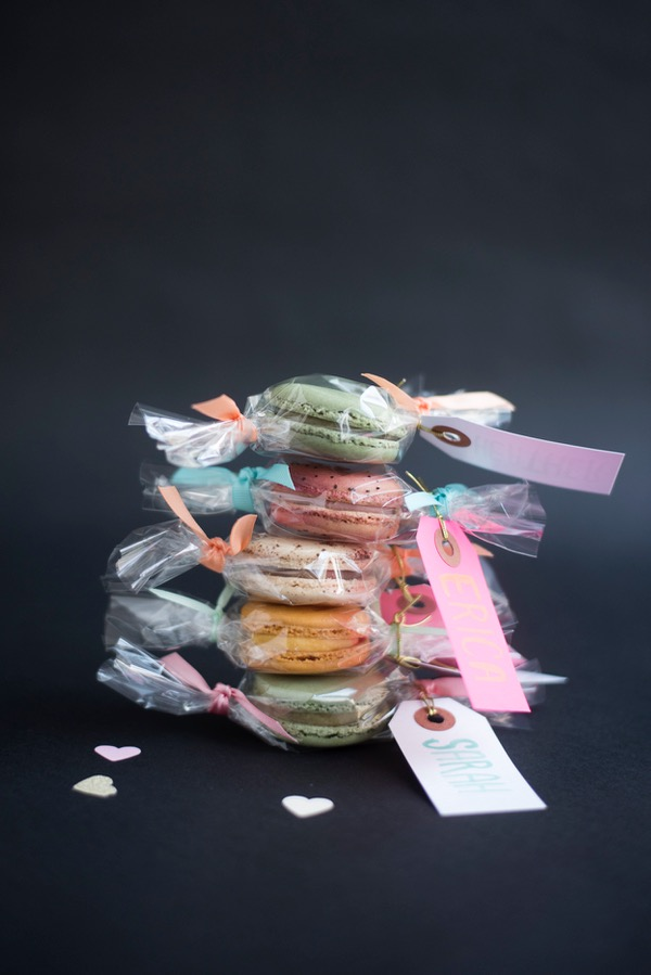 "Macaron ""Candy"" Favors 