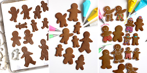 Fancy Pants Gingerbread Cookies | Oh Happy Day!