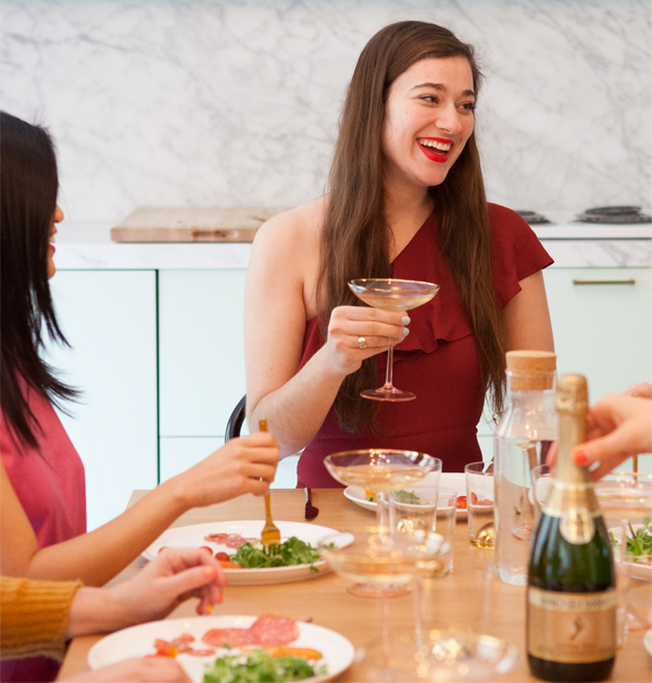 Holiday Progressive Dinner Party | Oh Happy Day!