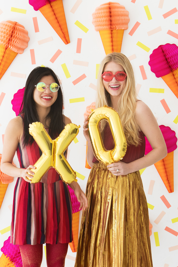Galentine's Day Photobooth Backdrop | Oh Happy Day!