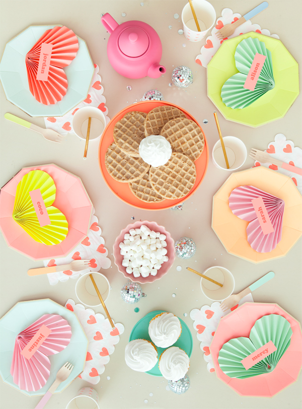 Neon Galentine's Day Party | Oh Happy Day!