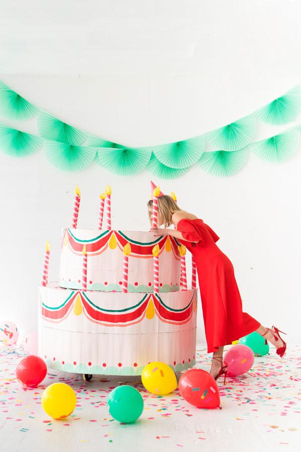 Giant Cake DIY | Oh Happy Day!