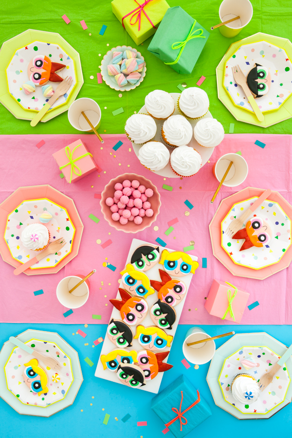 Modern Powerpuff Girls Party | Oh Happy Day!