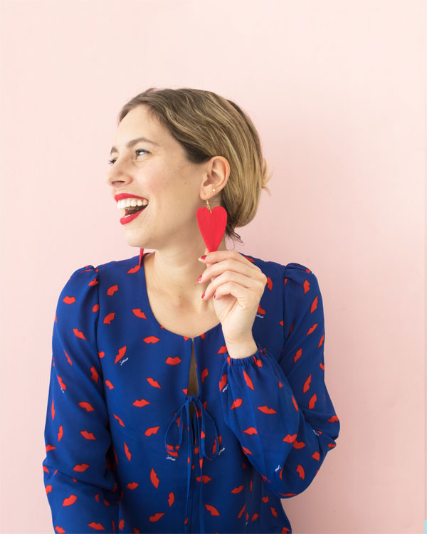 DIY Statement Earrings | Oh Happy Day!