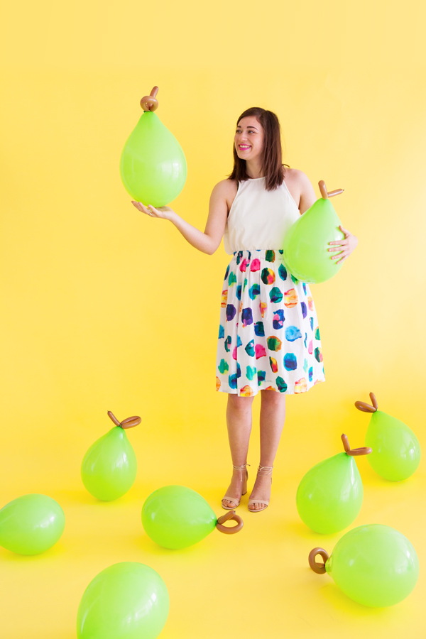 DIY Balloon Fruit | Oh Happy Day!