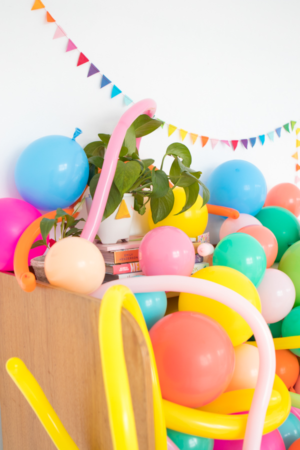 Balloons In Things: Cubicle | Oh Happy Day!