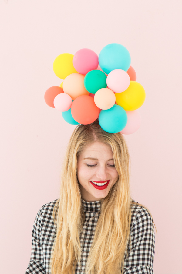 Balloon Hat DIY | Oh Happy Day!