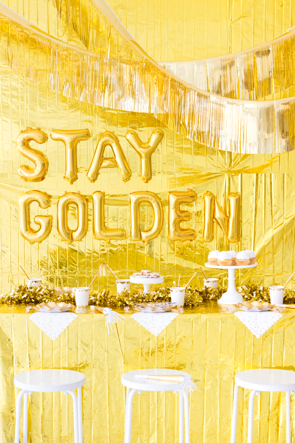 Gold Party | Oh Happy Day!