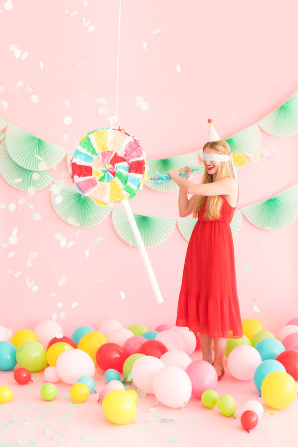 Lollipop Pinata Makeover | Oh Happy Day!