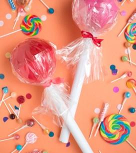Giant Lollipop Favors DIY | Oh Happy Day!