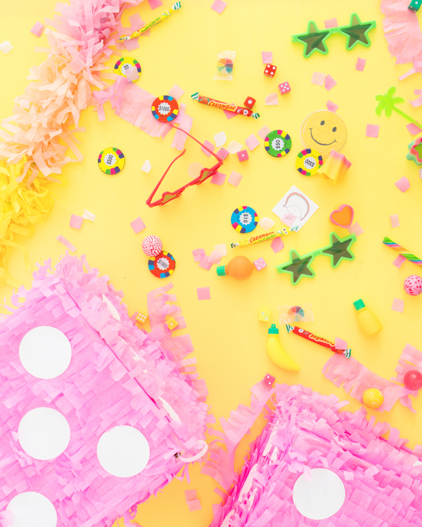 Fuzzy Dice Pinata Makeover | Oh Happy Day!