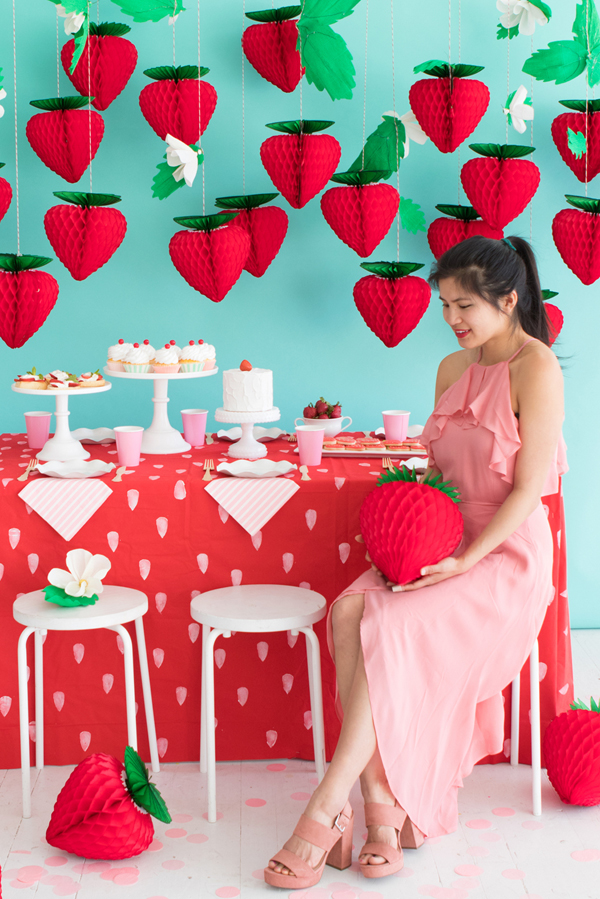 Strawberry Party | Oh Happy Day!