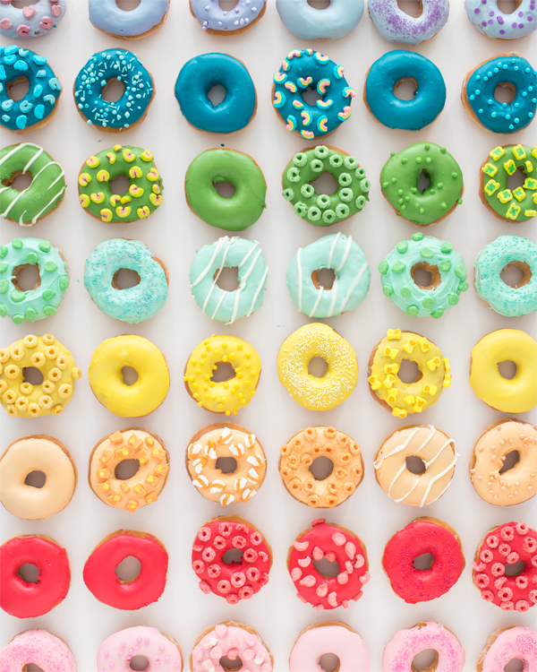 Donut Color Wheel | Oh Happy Day!
