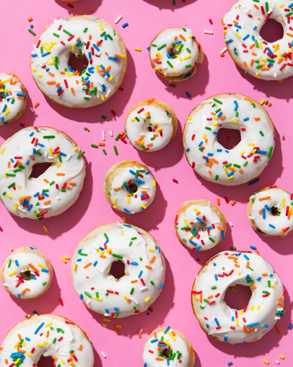 Piece of Cake: Baked Funfetti Donuts