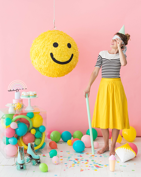 Smiley Face Pinata | Oh Happy Day!