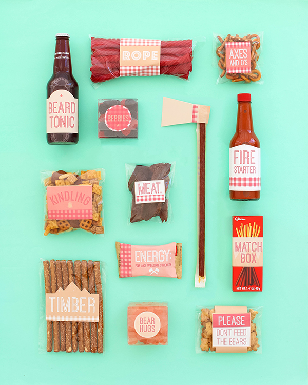 Father's Day Lumberjack Printables | Oh Happy Day!