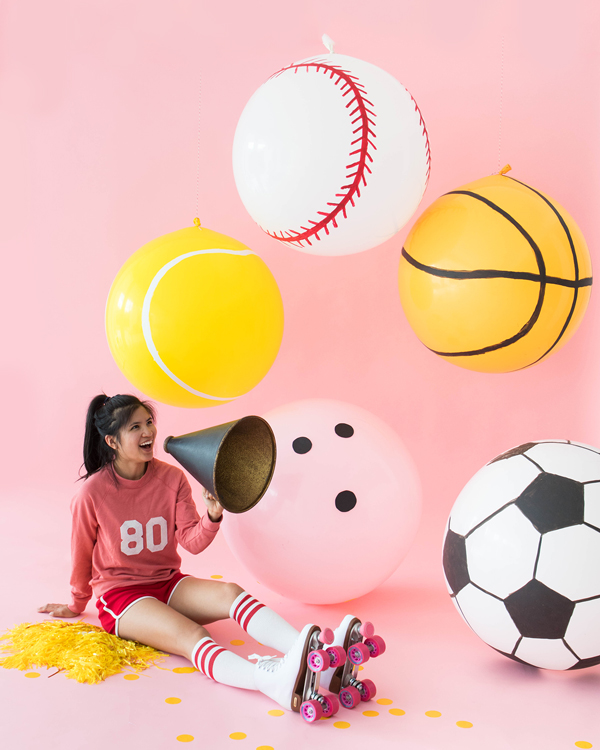 Giant Sports Balloons | Oh Happy Day!