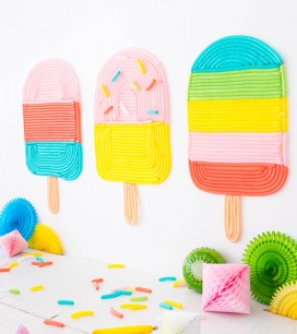 Popsicle Balloon Wall | Oh Happy Day!