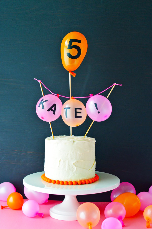 Three Ways: Sticker Letter Party Ideas | Oh Happy Day!
